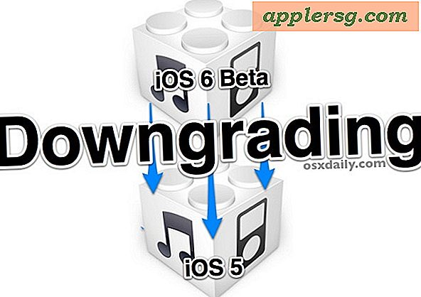 Downloaden van iOS 6 Beta naar iOS 5.1.1