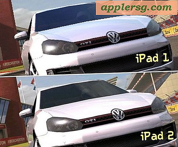 iPad vs iPad 2 Graphics Performance