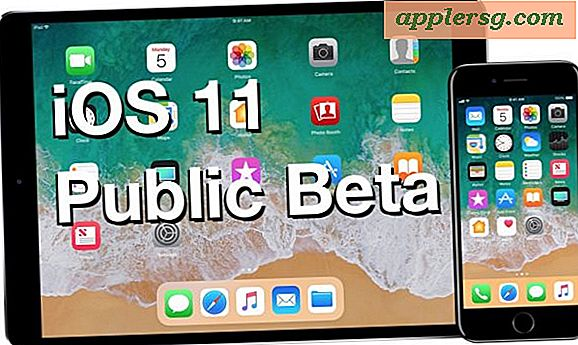 Download iOS 11 Public Beta nu til iPhone, iPad