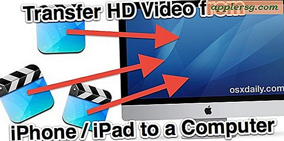 Breng HD-video over van iPhone of iPad naar uw computer