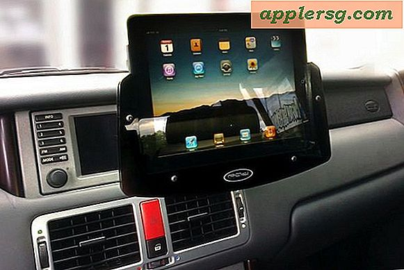 Supports de voiture iPad