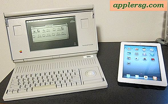 Macintosh Portable vs iPad 2