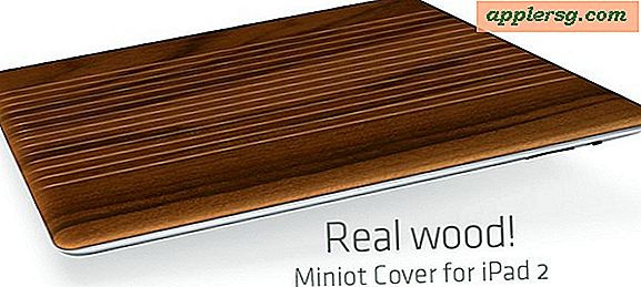 Beautiful Wooden iPad 2 Cover