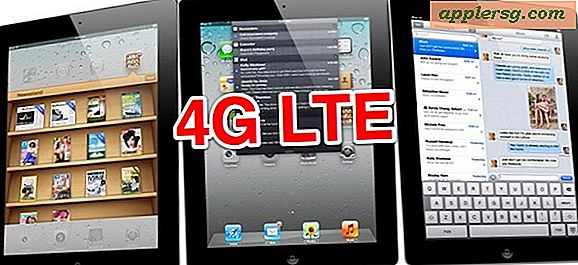 4G LTE iPad 3 Kommer til Verizon & AT & T