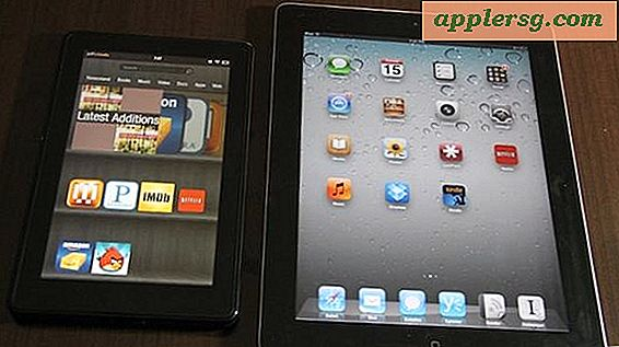 iPad 2 vs Kindle Fire [Video]