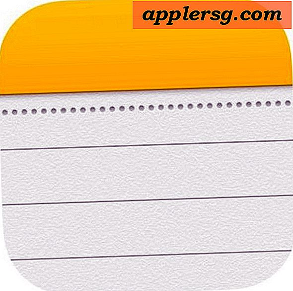 Come modificare l'account Notes predefinito in iOS