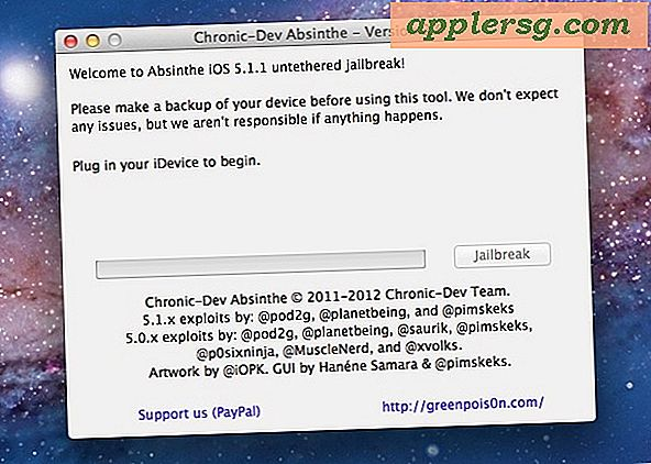 Comment Jailbreaker iPhone, iPad ou iPod touch sur iOS 5.1.1 avec Absinthe 2.0