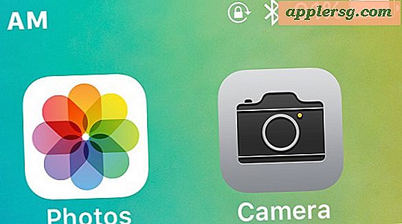 Een ontbrekend camerapictogram op iPhone repareren na iOS-update