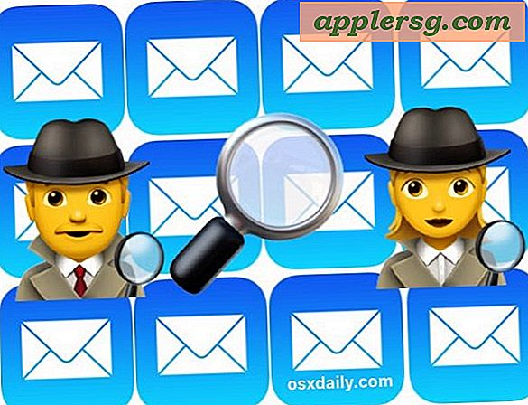 Hoe e-mail op iPhone en iPad Mail te zoeken