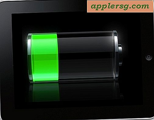 6 tip til at maksimere iPad batterilevetid
