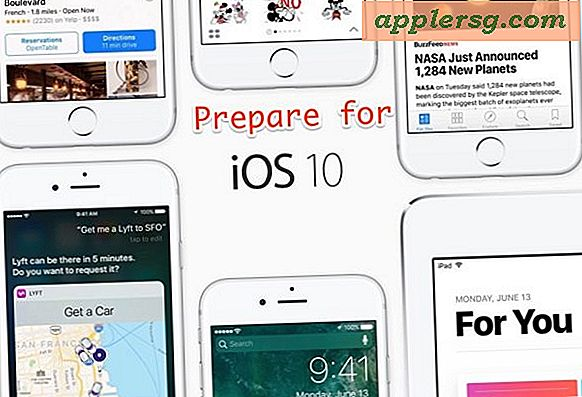 7 stappen voor te bereiden voor iOS 10-update op iPhone of iPad