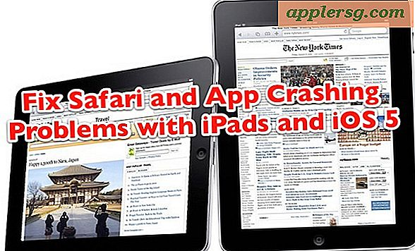 Fix Safari Crashing op iPad en iOS