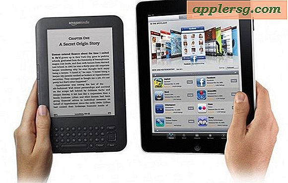 Kindle vs iPad voor Reading: heeft Kindle Win?
