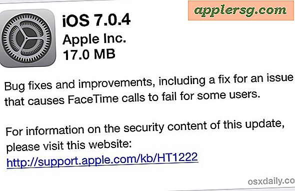 iOS 7.0.4 Download mit Fehlerbehebungen veröffentlicht [IPSW Direct Download Links]