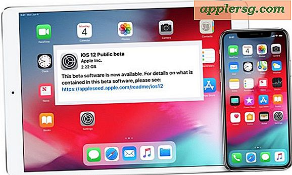 Hoe iOS 12 Public Beta nu te installeren op iPhone of iPad