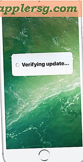 "Fix iOS Fast på ""Verificer opdatering"""