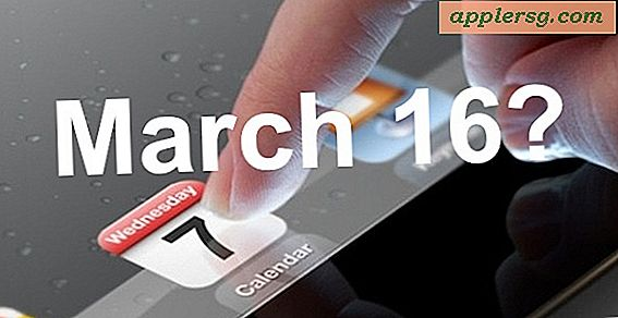 iPad 3 Release Set for 16. mars?
