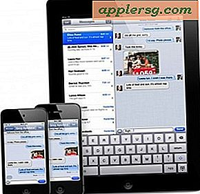 Synkroniser iMessage over alle iOS-enheder: iPhone, iPad og iPod touch