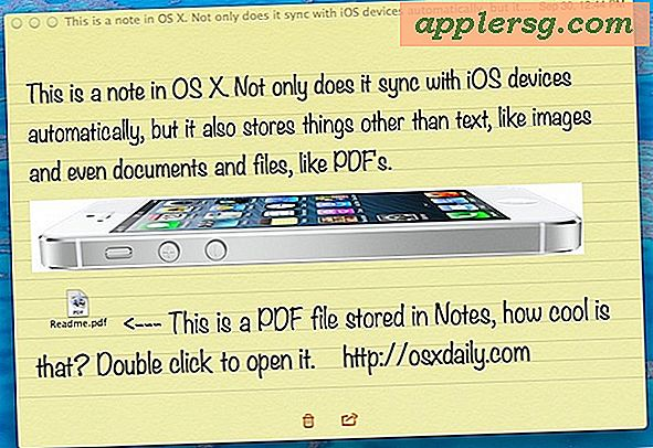 Usa Note come Super Clipboard per sincronizzare i dati tra Mac e dispositivi iOS
