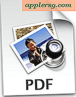 Sådan gemmes websider som PDF-filer på iPad og iPhone