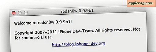 Redsn0w 0.9.9b1 Jailbreak Tool Auto-Detekterer IOS Version & Downloads IPSW