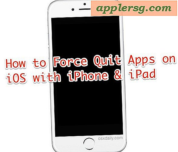 Sådan Force Stop App på iPhone, iPad og iPod touch