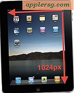 iPad Screen Resolution