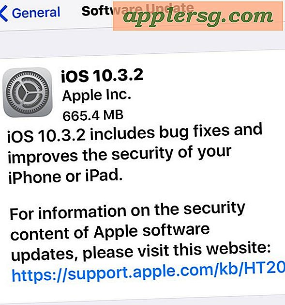 iOS 10.3.2 Opdatering til iPhone, iPad [IPSW Download Links]