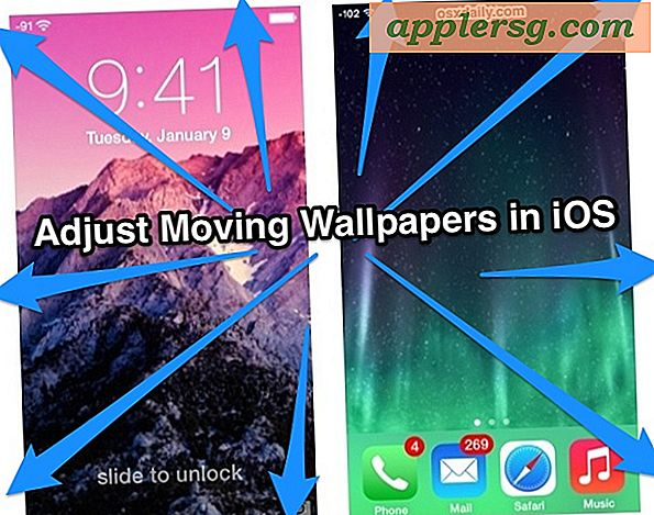 Passen Sie Wallpapers in iOS 7.1 mit Perspektivenzoom an