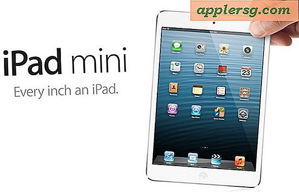 iPad Mini Released, Prissætning starter på $ 329 og forudbestillinger start 26. oktober