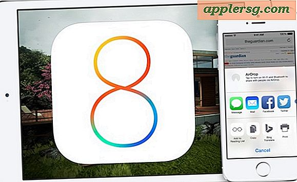 IOS 8.0.1 Update Udgivet til iPhone, iPad, iPod touch [Opdatering: Undgå for nu]