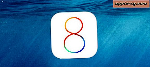 IOS 8 Update Released för iPhone, iPad, iPod touch