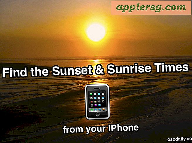 Holen Sie sich Sunset & Sunrise Times vom iPhone