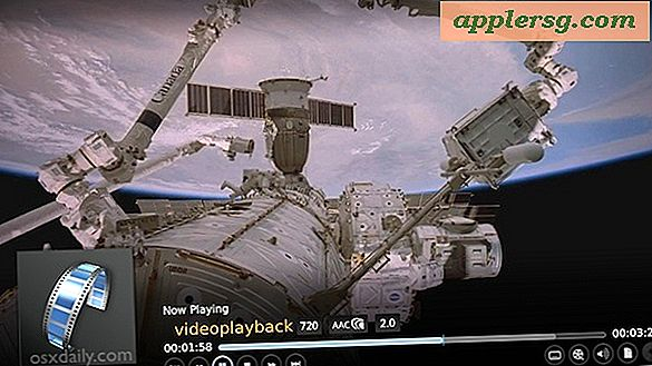 Send AirPlay Video fra en iPhone eller iPad til en Mac, PC eller TV med XBMC