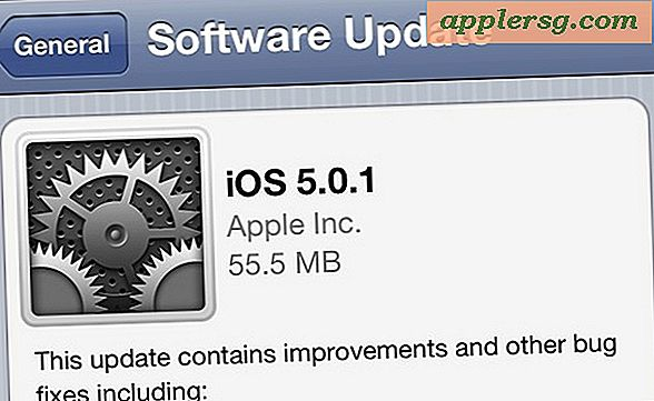iOS 5.0.1 Udgivet [Download Links]
