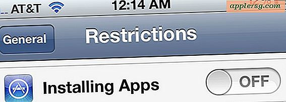 Deaktiver installation af apps på iPhone, iPad og iPod touch