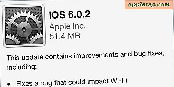 iOS 6.0.2 Utgitt med Wi-Fi Fix for iPhone 5 og iPad Mini [Last ned lenker]