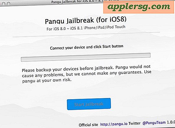 Pangu Jailbreak for iOS 8.1 Tilgjengelig for Mac OS X