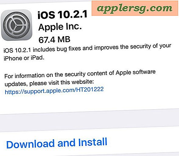 iOS 10.2.1 Update Udgivet til iPhone, iPad [IPSW Download Links]
