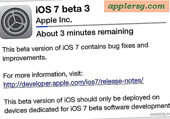 Il download di iOS 7 Beta 3 è ora disponibile
