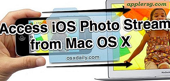 Få tilgang til iOS Photo Stream fra Mac OS X Finder