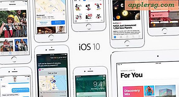 IOS 10 Utgivelsesdato Set for 13. september