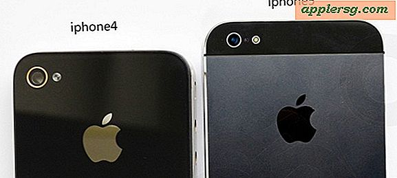 Plus iPhone 5 photos surface, comparer la taille de l'iPhone 4 & 3GS
