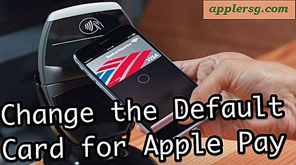 Come cambiare la carta di credito Apple Pay predefinita su iPhone