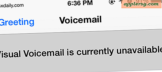 "De fout ""Visual Voicemail Unavailable"" op de iPhone oplossen"