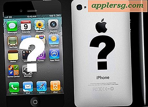 iPhone 5 er Tyndere og lettere med Redesigned Enclosure?