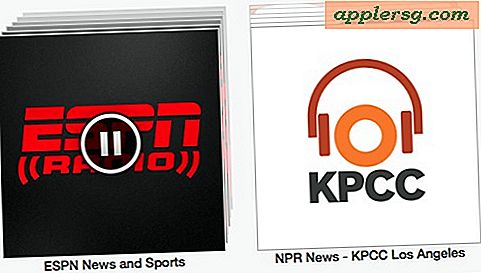 Luister naar NPR en ESPN Radio op iTunes Radio van iOS of Mac / pc