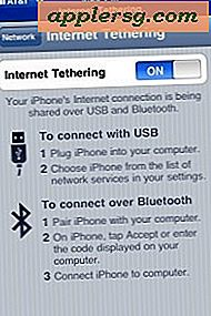 Så enkelt aktiverar du iPhone Internet Tethering med iPhone 3.0