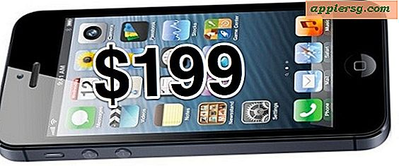 iPhone 5 Prissætning: $ 199 for 16GB, $ 299 for 32GB, $ 399 for 64GB