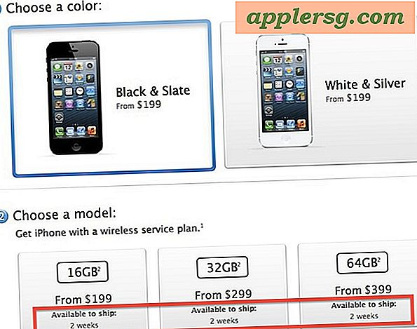 iPhone 5 Pre-Orders utsolgt på en time